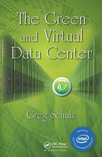 The Green and Virtual Data Center book cover