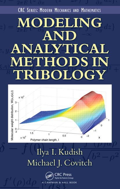 Modeling and Analytical Methods in Tribology book cover