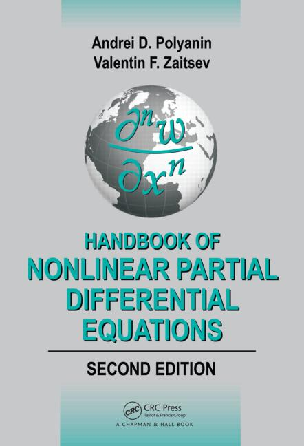 Handbook of Nonlinear Partial Differential Equations, Second Edition book cover