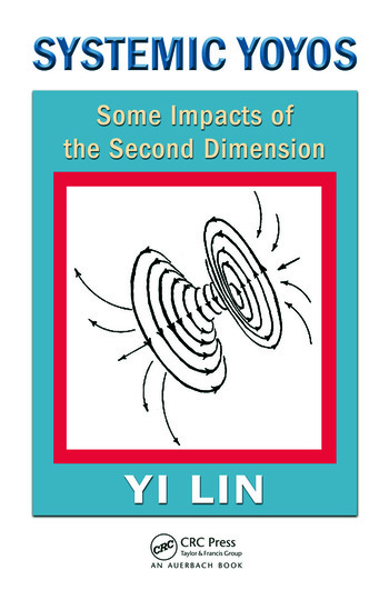 Systemic Yoyos Some Impacts of the Second Dimension book cover