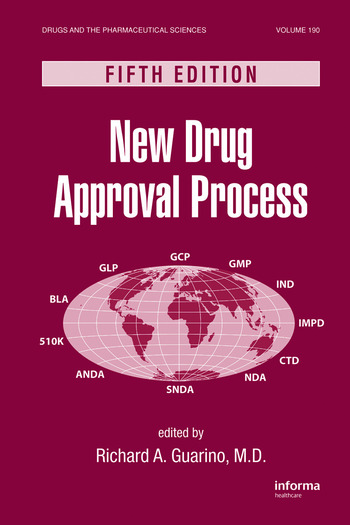 New Drug Approval Process book cover