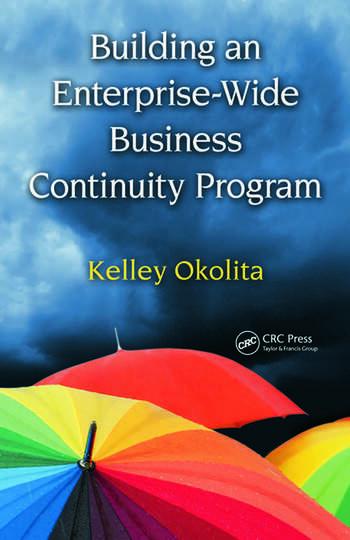 Building an Enterprise-Wide Business Continuity Program book cover