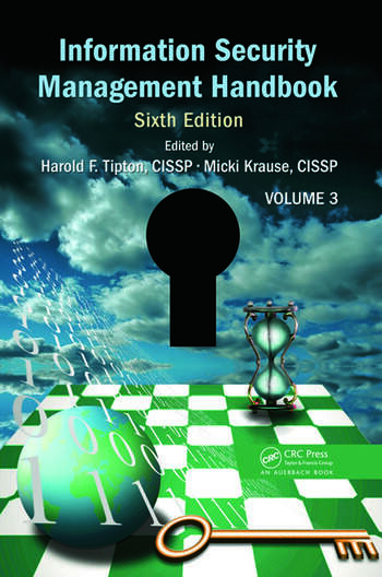 Information Security Management Handbook, Volume 3 book cover