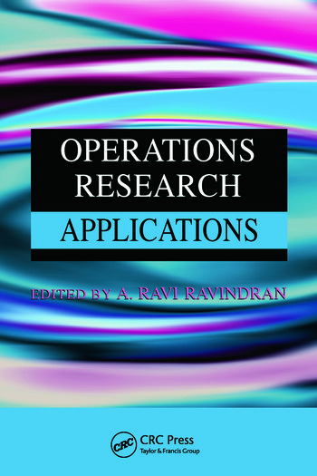 Operations Research Applications book cover