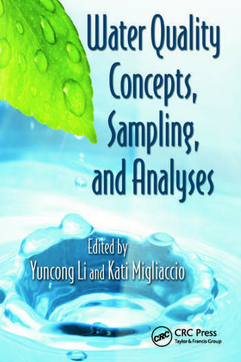Water Quality Concepts, Sampling, and Analyses book cover