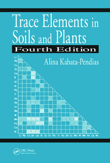 Trace Elements in Soils and Plants book cover