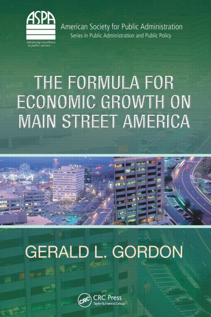 The Formula for Economic Growth on Main Street America book cover