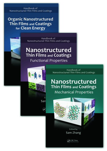 Handbook of Nanostructured Thin Films and Coatings, Three-Volume Set book cover