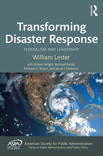 Transforming Disaster Response Federalism and Leadership book cover