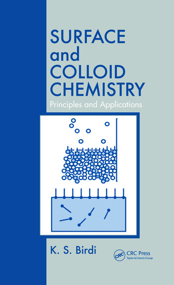 Surface and Colloid Chemistry Principles and Applications book cover