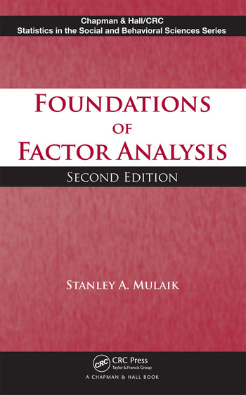 Foundations of Factor Analysis book cover