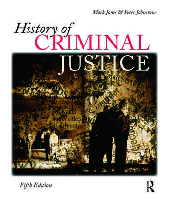 History of Criminal Justice book cover