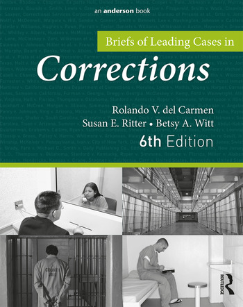 Briefs of Leading Cases in Corrections book cover