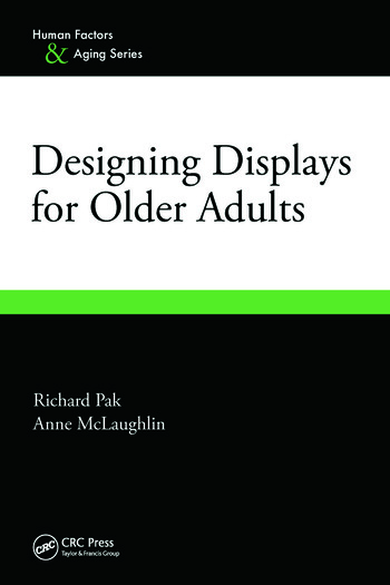 Designing Displays for Older Adults book cover