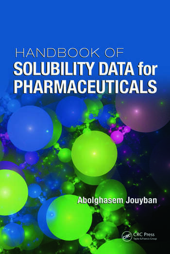 Handbook of Solubility Data for Pharmaceuticals book cover
