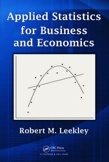 Applied Statistics for Business and Economics book cover