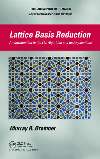 Lattice Basis Reduction An Introduction to the LLL Algorithm and Its Applications book cover