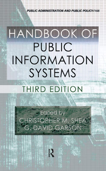 Handbook of Public Information Systems book cover