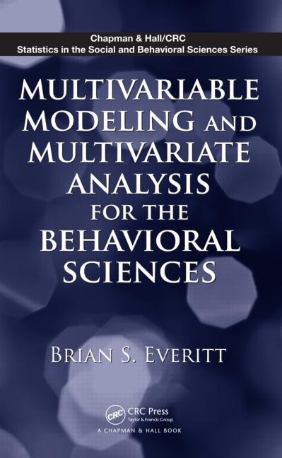 Multivariable Modeling and Multivariate Analysis for the Behavioral Sciences book cover