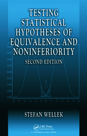 Testing Statistical Hypotheses of Equivalence and Noninferiority book cover
