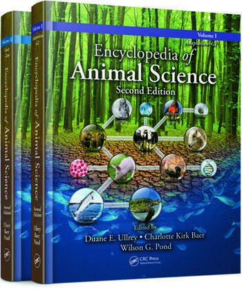 Encyclopedia of Animal Science, Second Edition - (Two-Volume Set) book cover