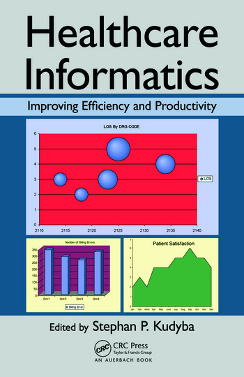 Healthcare Informatics Improving Efficiency and Productivity book cover