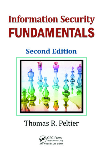 Information Security Fundamentals, Second Edition book cover