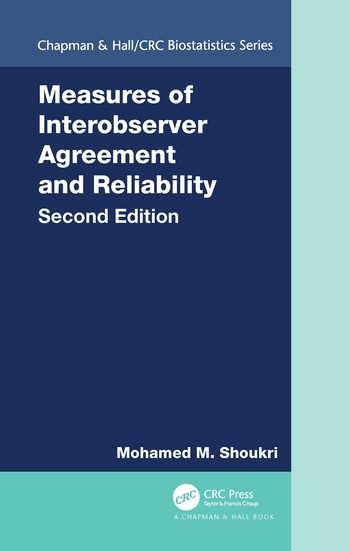 Measures of Interobserver Agreement and Reliability, Second Edition book cover