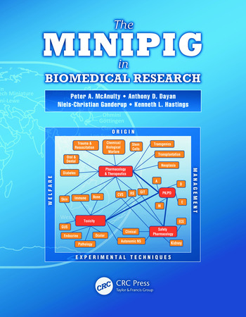 The Minipig in Biomedical Research book cover