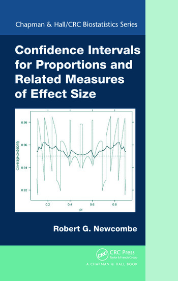 Confidence Intervals for Proportions and Related Measures of Effect Size book cover