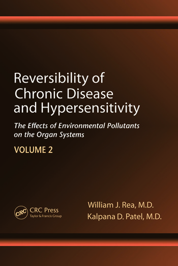 Reversibility of Chronic Disease and Hypersensitivity,Volume 2 The Effects of Environmental Pollutants on the Organ System book cover