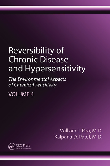 Reversibility of Chronic Disease and Hypersensitivity, Volume 4 The Environmental Aspects of Chemical Sensitivity book cover