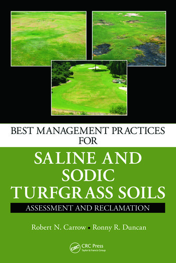 Best Management Practices for Saline and Sodic Turfgrass Soils Assessment and Reclamation book cover