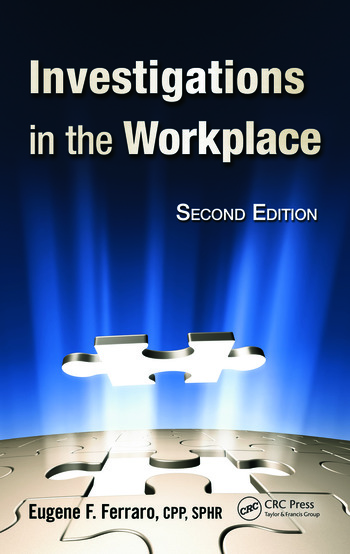 Investigations in the Workplace book cover
