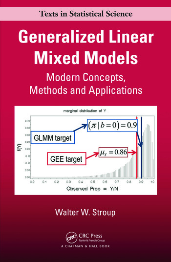 Generalized Linear Mixed Models Modern Concepts, Methods and Applications book cover