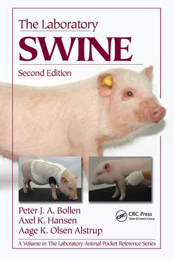 The Laboratory Swine book cover