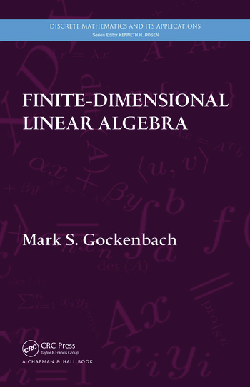 Finite-Dimensional Linear Algebra book cover