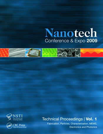 Nanotechnology 2009 Fabrication, Particles, Characterization, MEMS, Electronics and Photonics Technical Proceedings of the 2009 NSTI Nanotechnology Conference and Expo, Volume 1 book cover