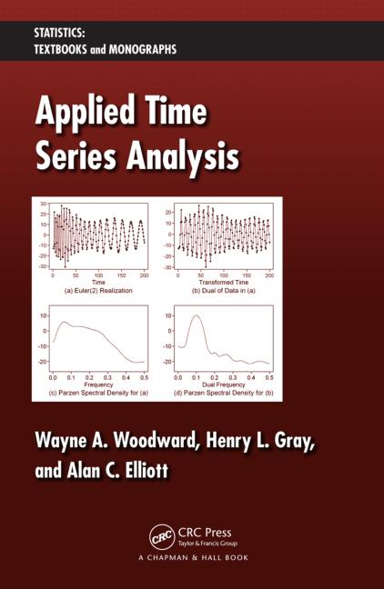 Applied Time Series Analysis book cover