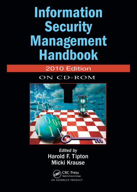 Information Security Management Handbook, 2010 CD-ROM Edition book cover