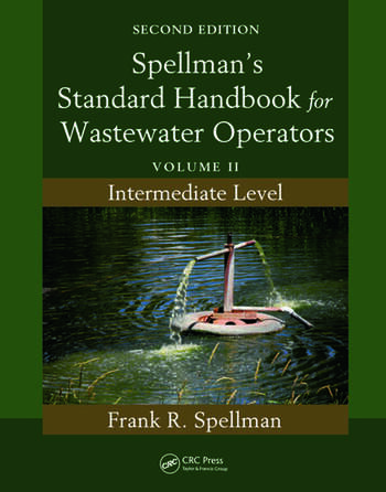 Spellman's Standard Handbook for Wastewater Operators Volume II, Intermediate Level, Second Edition book cover