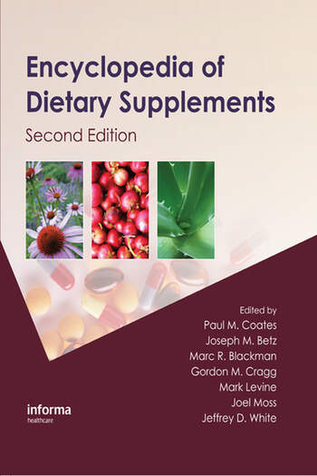 Encyclopedia of Dietary Supplements book cover