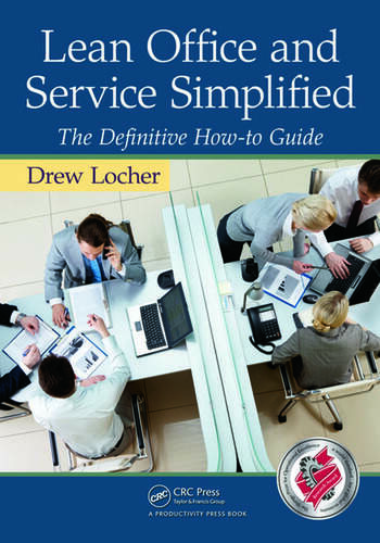 Lean Office and Service Simplified The Definitive How-To Guide book cover