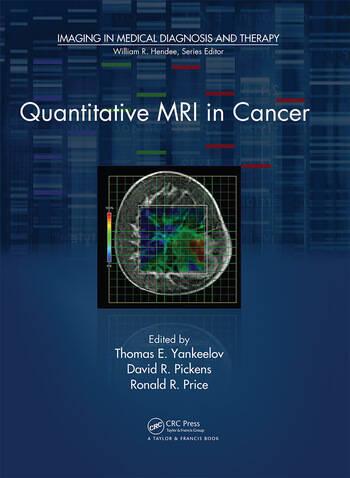 Quantitative MRI in Cancer book cover