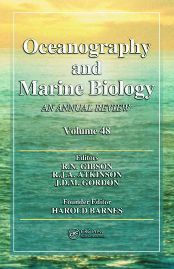 Oceanography and Marine Biology An Annual Review, Volume 48 book cover