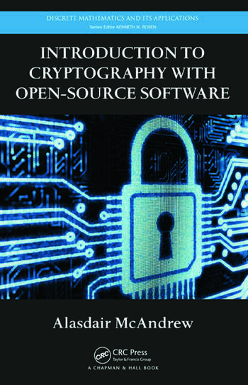 Introduction to Cryptography with Open-Source Software book cover