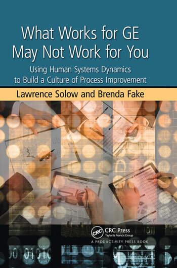 What Works for GE May Not Work for You Using Human Systems Dynamics to Build a Culture of Process Improvement book cover