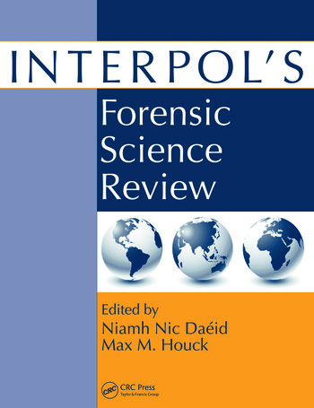 Interpol's Forensic Science Review book cover