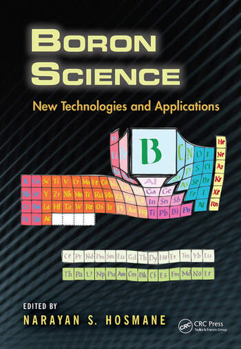 Boron Science New Technologies and Applications book cover