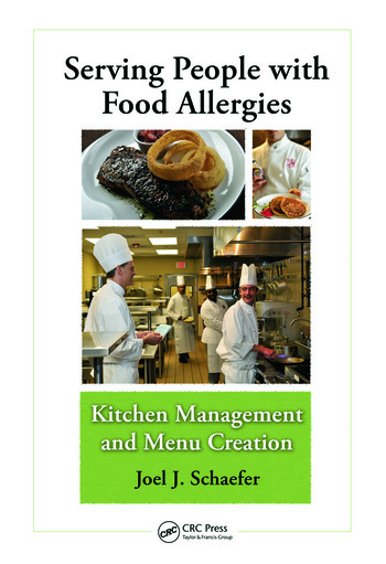 Serving People with Food Allergies Kitchen Management and Menu Creation book cover